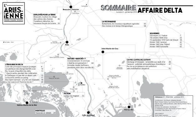 «Affaire Delta» / Sommaire / l'Arlésienne n°2