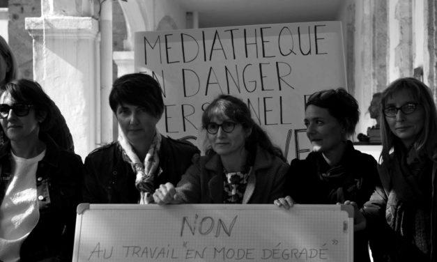 La médiathèque en mode dégradé