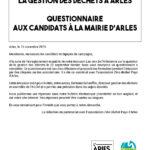 Gestion des déchets, les réponses des candidats à notre questionnaire