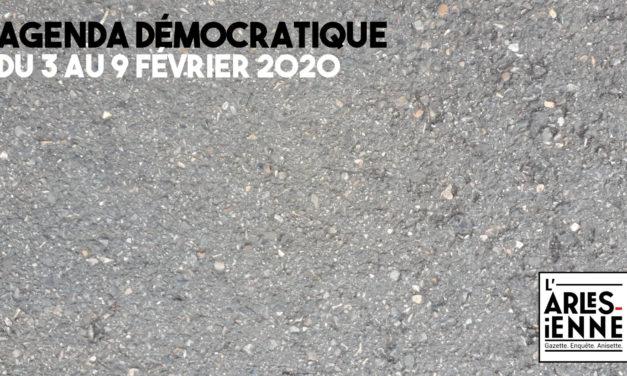 [Agenda démocratique] Du 3 au 9 février 2020