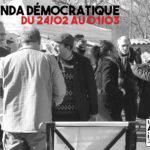Agenda démocratique du 24 février au 1er mars 2020
