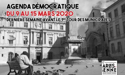 Agenda démocratique du 9 au 15 mars - la première dernière ligne droite