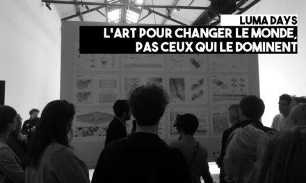 L'art pour changer le monde, pas ceux qui le dominent