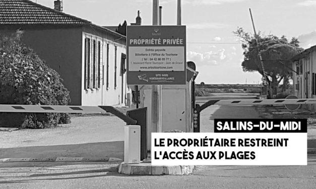 Salin-de-Giraud : le propriétaire des Salins restreint l'accès des villageois aux plages
