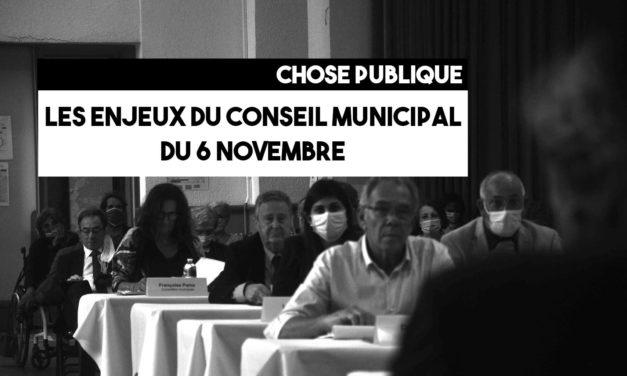 Les enjeux du conseil municipal du 6 novembre 2020
