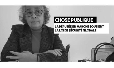 Monica Michel défend la loi de sécurité globale
