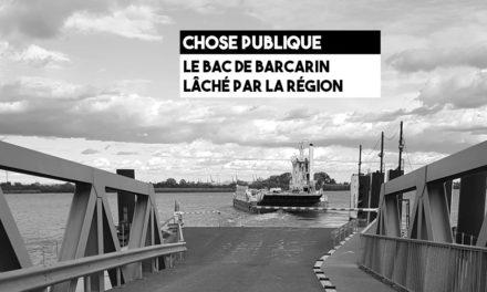 Bac de Barcarin : le Département accepte le retrait de la Région