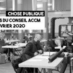 Documents pour le conseil communautaire ACCM du 25 février 2021