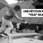 Une pétition pour un «vrai skatepark»