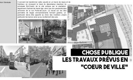 Les travaux prévus en «cœur de ville»