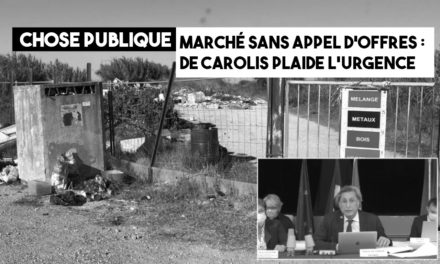 Marché sans appel d'offres, de Carolis plaide l'urgence «impérieuse»