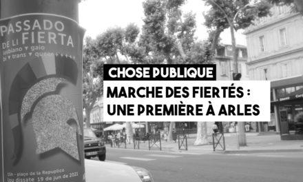 Première marche des fiertés à Arles