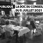 ACCM. La doc du conseil du 5 juillet 2021